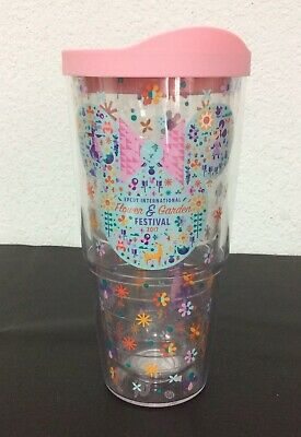 2017 Disney Parks EPCOT Flower And Garden Festival 24 oz Tervis Collectible Cup