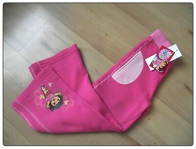 New Girls Pink Joggers Age 6 Years DORA THE EXPLORER Motif Jog Bottoms
