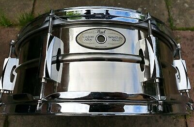 Pearl Sensitone 14x5.5 Steel Snare Drum