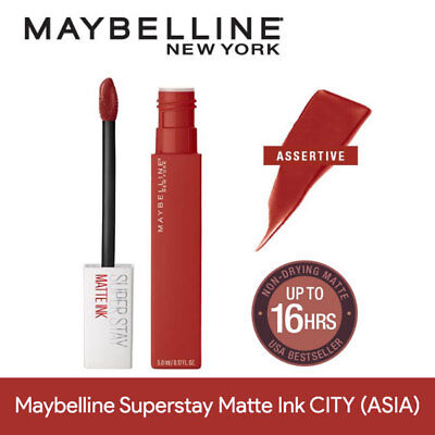 MAYBELLINE SUPERSTAY MATTE Ink City Edition Liquid 1 Count