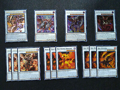 Yugioh Complete Hot Red Dragon Archfiend Deck! Bane Aby *Tournament Rdy* + Bonus