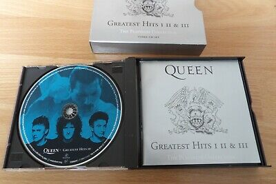 Coffret Queen Greatest hits I - II - III - the Platinum Collection - 3 CD