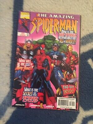 Amazing Spider Man #439 Newsstand Hard To Find [Marvel Comics, 1998]