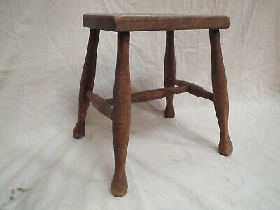 Vintage Wooden Stool -Possibly Victorian/Edwardian