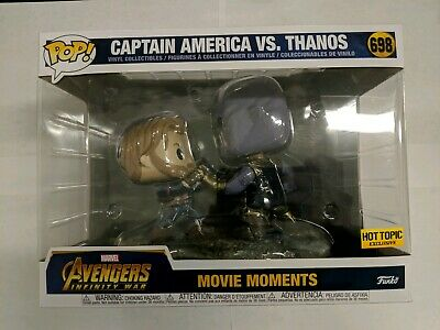Funko Pop! Avengers: Infinity War - Captain America Vs Thanos (Movie Moment) HT