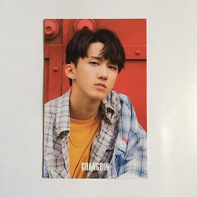 Stray Kids 'I Am Who' Official Changbin Photocard (Behind Version)