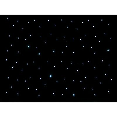 Ledj Star 05/STAR05 3 X 2M Éclairage LED Dj Disco Star Tissu Garantie Inc
