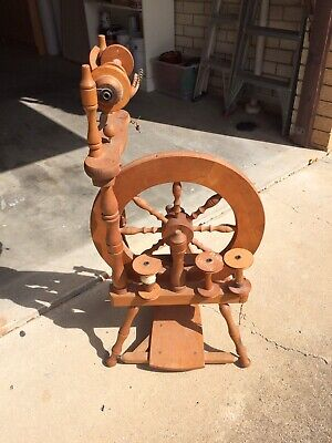 Vintage Spinning Wheel, Ashford