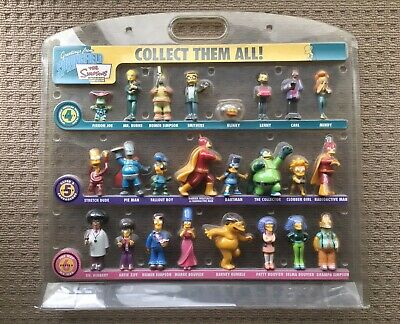 The Simpsons Limited Edition Figurine Collection Series 4,5,6 Without Box