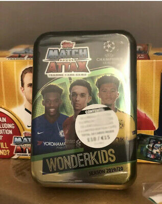 Topps Match Attax 2019/20 Mega Tin Wonderkids 50 cards including limited Edition