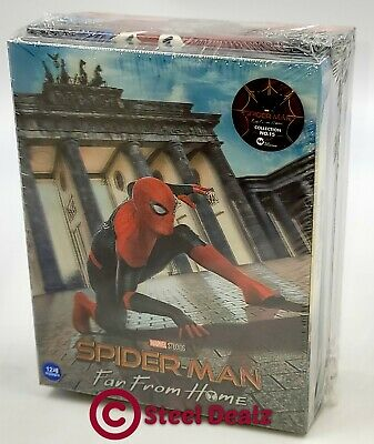 SPIDER-MAN FAR FROM HOME [4K+3D+2D+BD] BLU-RAY SET [WeET COLLECTION #062