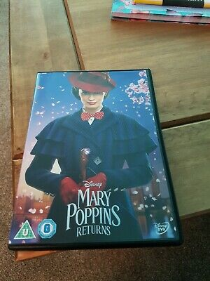 Mary poppins returns dvd watched once region 2