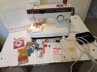 Vintage Frister + Rossman Cub 7 Sewing Machine  Cased - Accessories/Instructions