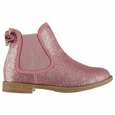 Miso Claire Chelsea Boots Childs Girls Pink Shoes Boot Kids Footwear