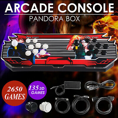 Pandora Box 7S 2362 Games in 1 Home Arcade Console 2253 2D & 109 3D Retro Video