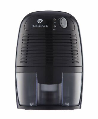 PureMate 500ml Compact and Portable Mini Air Dehumidifier for Damp, Mould,