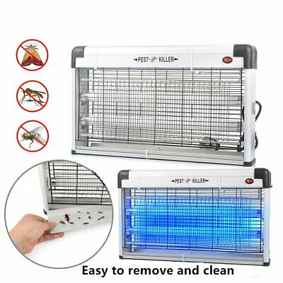 30W Electric UV Mosquito Killer Fly Pest Moth Bug Insect Zapper Lamp LED Light