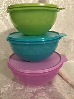 Tupperware 3-piece Wonderlier Bowl Set Brand New