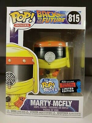 Funko Pop Marty Mcfly N° 815 Exclusive Nycc 2019 Back To The Future