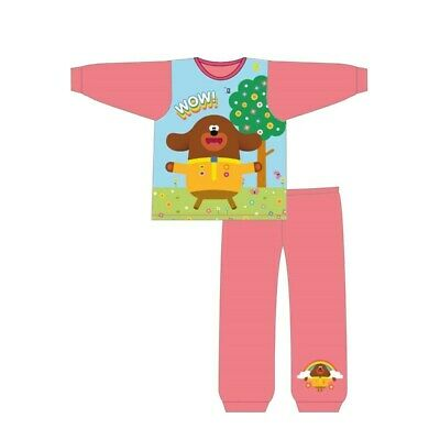 Toddler Girls Hey Duggee Pyjamas Pjs 18 Months - 5 Years