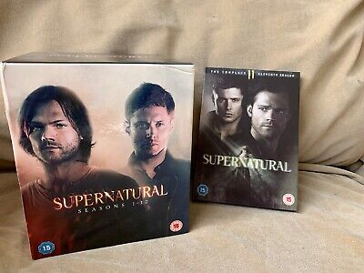 SUPERNATURAL - The Complete Collection, Seasons 1-11 - DVD BOX SETS - C82