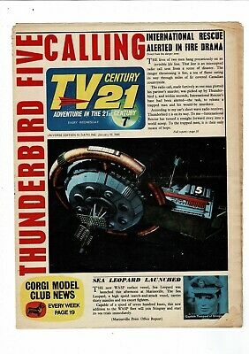 TV Century 21 COMIC no. 53 January  1966 7d