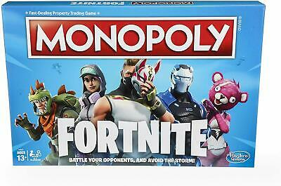 Monopoly Fortnite Edition Family Board Game (Ages 13+) *BRAND NEW*