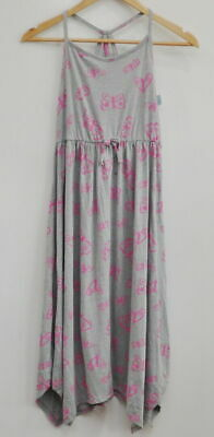 Girls' Butterfly Print Knit Maxi Dress - Cat & Jack Gray S