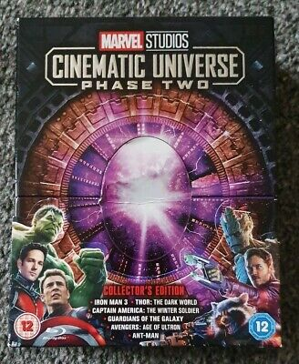 Marvel Studios Cinematic Universe Phase 2 Blu Ray Collection