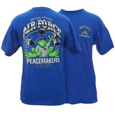 Peace Frogs Adult US Air Force T-Shirt XL