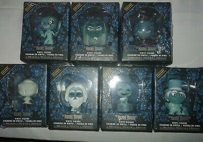 Funko Haunted Mansion Mystery Minis Hot Topic BoxLunch Exclusives Complete Set