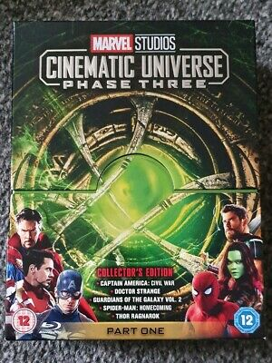Marvel Studios Cinematic Universe Phase 3 Part 1 Blu Ray Collection
