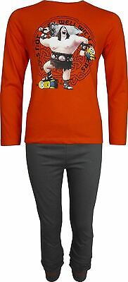 Boys Despicable Me Minions Long Sleeve Pyjamas Set size 8 Years / 128 cm