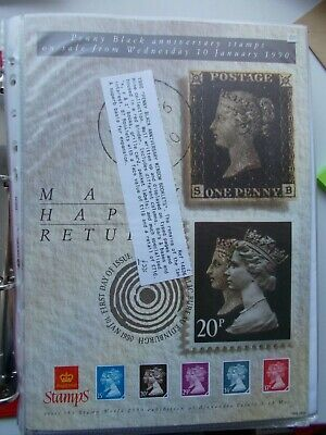 SPECIALISED QV 1d BLACK DOUBLE HEAD MACHIN BOOKLET COLLECTION SUPERBLY ANNOTATED