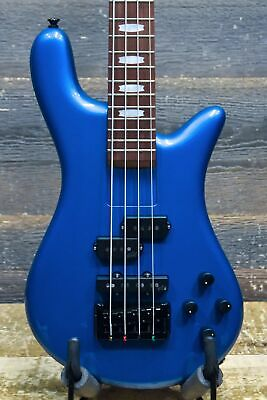 Spector EuroBolt4 Aguilar Pickups Metallic Blue 4-String El. Bass w/Bag #NB15398