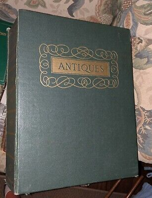 Binder Of 1965 ANTIQUES magazines 12
