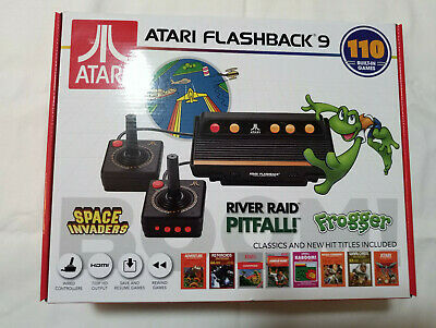 ATARI FLASHBACK 9 Video Game Console w 110 Games Retro Gaming New Space Invaders