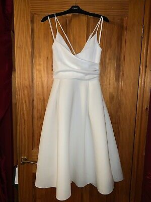 Brand new with tags ASOS white dress size 12