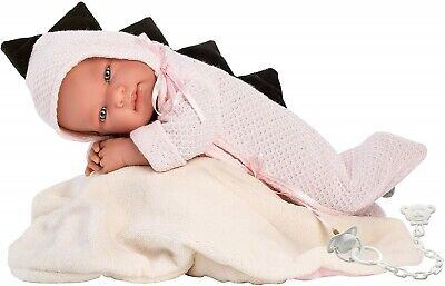 Llorens Doll Baby Sara Infant Girl in Pouch 43cm New 84320
