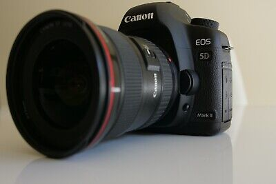 Canon EOS 5D Mark II Digital SLR Camera Body Only w Extras | Shutter count: 1737