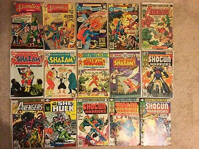 Huge Collection Lot 220+ Comics All Silver Bronze Age Marvel DC Avengers Shazam!