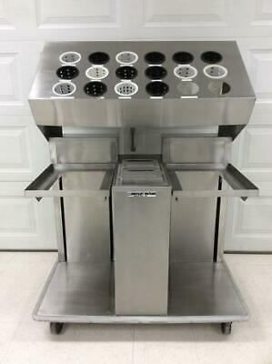 ServoLift Eastern Cafeteria Tray Dispenser Cart +FREE SHIPPING+