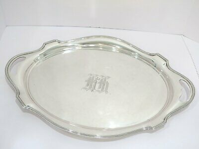 20 1/8 in - Sterling Silver Gorham Antique Oval Tray