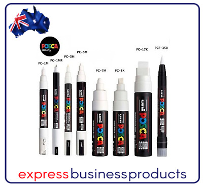 Uni Posca Poster Marker Each - **Assorted Colours and Tips**
