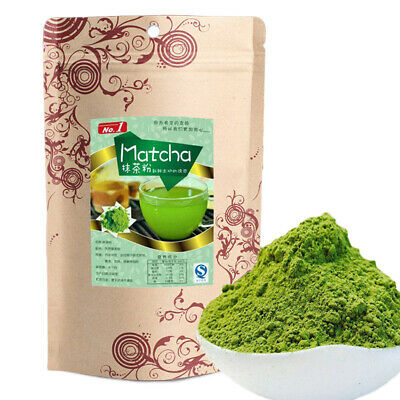 100g Matcha Powder Green Tea Pure Organic Certified Quality Natural Loose