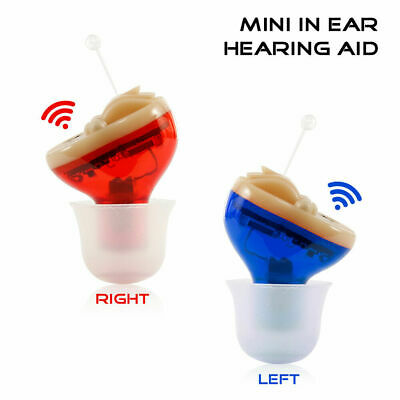 Mini Digital In Ear Hörgerät Einstellbare Sound Amplifier Hearing Aid Höhrgerät