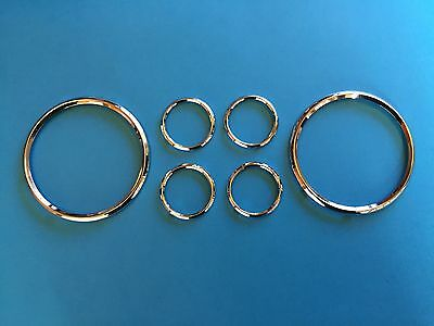 Daimler DB18 Special Sports Instrument Chrome Rim Set