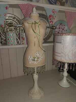 MANNEQUIN dummy Vintage Stand, Jewellery Holder, Decor, Beaded, Large
