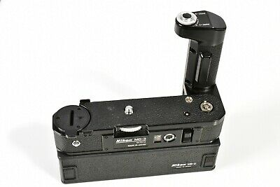 Nikon Md-3 & Mb-2 Motor Drive & Battery Pack For F2 F2As F2S F2Sb Fully Tested