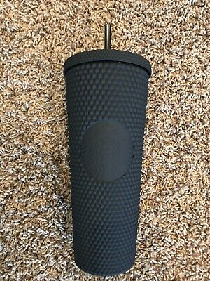 Fall 2019 Starbucks Matte Black Studded Tumbler Cup Limited Edition NEW RARE
